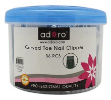 CURVED TOE NAIL CLIPPER 36CT