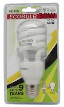 BIG SPIRAL SAVING BULB 30CT