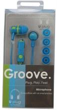 EARPHONE GROOVE W/MICRO 1CT