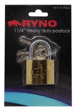 """RYNO PADLOCK 1 1/4"""" 12CT"""