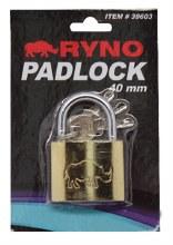 """RYNO PADLOCK 1 1/2""""12CT"""