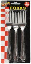 3PCS FORK 24CT