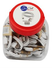 SC ANDROID CABLE WHITE 36CT