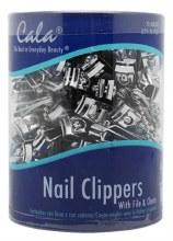 CALA NAIL CLIPPER 72CT DRUM