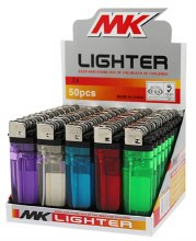 MK LIGHTER CLEAR 50CT
