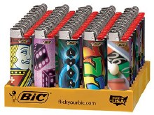 BIC CASINO LIGHTER 50CT