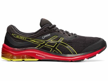 Asics Gel Pulse 11 GTX Mens (Grey Red Yellow) 9