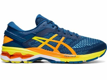 Asics Gel Kayano 26 Mens (Blue Yellow Orange) 10