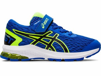 Asics GT1000 9 PS Kids (Blue Yellow Black) 13