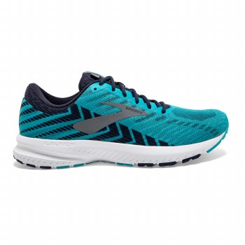 Brooks Launch 6 Mens (Blue Navy) 10