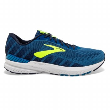 Brooks Ravenna 10 Mens (Navy Blue Lime) 7