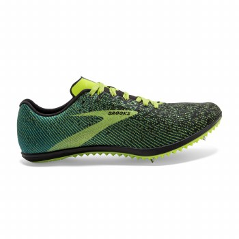 Brooks Mach 19 Mens (Black Lime) 10