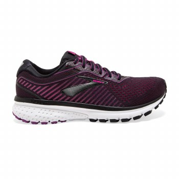 Brooks Ghost 12 Ladies (Purple Black White) 4
