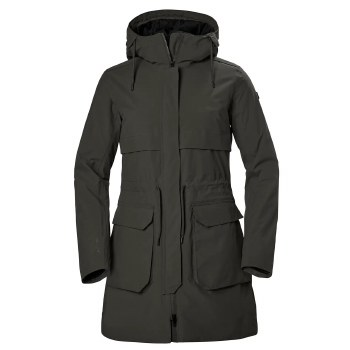 Helly Hansen Womens Boyne Parka Jacket (Beluga) Large