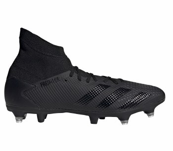 Adidas Predator 20.3 Soft Ground (Black Black) 6