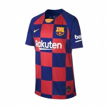 Nike FC Barcelona Kids Home Jersey 2019-20 (Blue Claret) LB