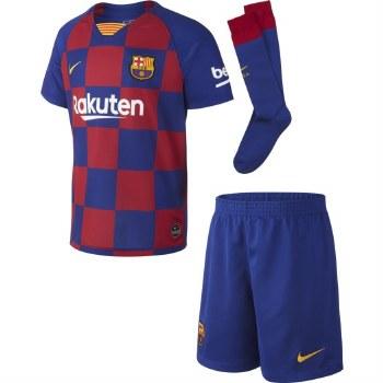Nike FC Barcelona Little Boys Home Kit 2019-20 (Blue Claret) LB