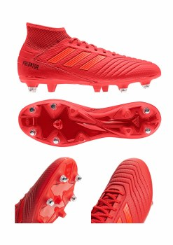 Adidas Predator 19.3 Soft Ground Boots (Red) 8