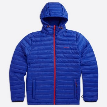 Animal Recast Padded Jacket (Blue Red) L