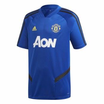 Adidas MUFC Training Jersey Kids 2019/2020 (Blue Black) Age 7-8