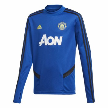 Adidas MUFC Training Top Kids 2019/2020 (Blue Black) Age 15-16