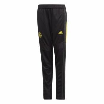 Adidas MUFC Training Pants Kids 2019/2020 (Black Yellow) Age 7-8