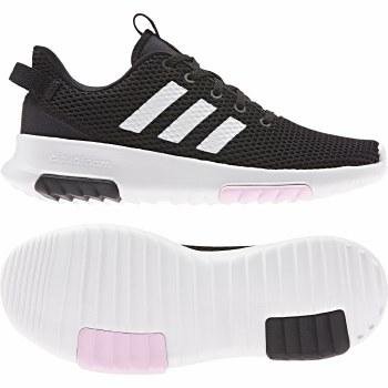 Adidas CF Racer TR Ladies (Black White Pink) 5.5