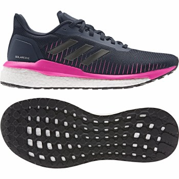 Adidas Solar Drive 19 Womens (Navy Pink White) 6.5