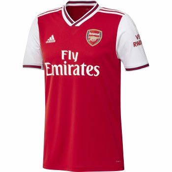 Adidas Arsenal Mens Home Jersey 2019-2020 (Red White) Small