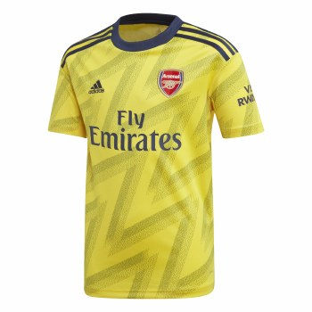 Adidas Arsenal Away Jersey Kids 2019-2020 (Yellow Navy) 9-10