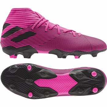 Adidas Nemeziz 19.3 Firm Ground Adults (Pink Black) 8