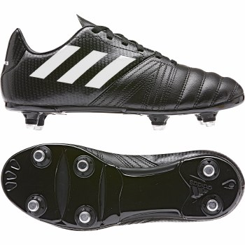 Adidas All Blacks Junior Soft Ground Rugby Boot (Black) 4
