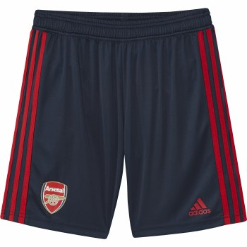 Adidas Arsenal Boys Training Shorts 2019-2020 (Navy Red) 11-12