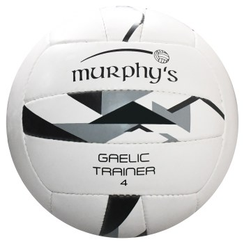 Murphys Gaelic Trainer (White Black Grey) Size 4