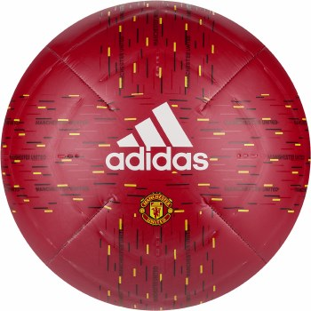 Adidas Manchester United Club Ball 2020/21 (Red Black Yellow) Size 5