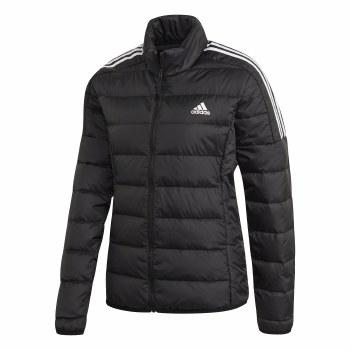 Adidas Essential Down Jacket (Black White) Small