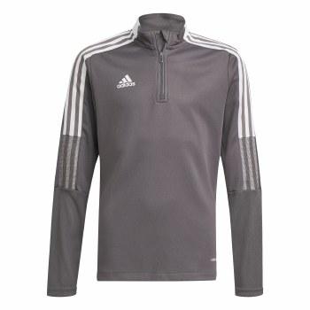 Adidas Tiro 21 Training Top Junior (Grey White) 5-6