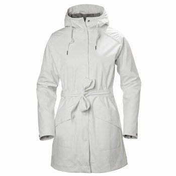 Helly Hansen W Kirkwall Rain Coat White Medium