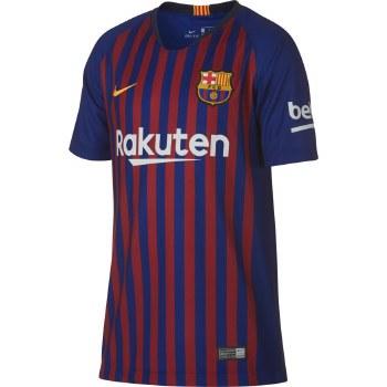 Nike Barcelona FC Home Kids Jersey (Claret/Blue) XS