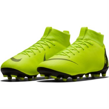 Nike Junior Superfly 6 Academy GS FG (Volt/Black) 5.5