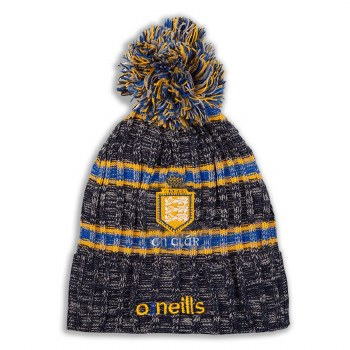 O'Neills Clare Solar Bobble Hat Adults (Navy Royal Amber) Adults
