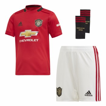 Adidas MUFC Home Mini Kit 2019/2020 (Red White) 18-24 Months
