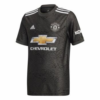 Adidas Man Utd Away Jersey 2020/21 Kids (Green Black) 11-12
