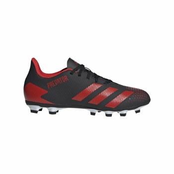 Adidas Predator 20.4 Firm Ground (Black Red White) 9