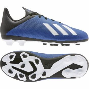 Adidas X19.4 Firm Ground Junior (Blue Black White) 2