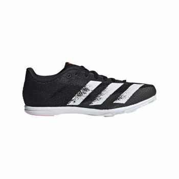 Adidas Allroundstar Junior Running Spikes (Black White) 1.5