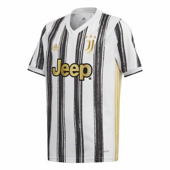 Adidas Juventus Home Jersey Junior 2020/21 (White Black Gold) 7-8