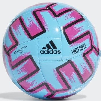 Adidas Uniforia Club Ball (Blue Shock Pink Black) Size 5