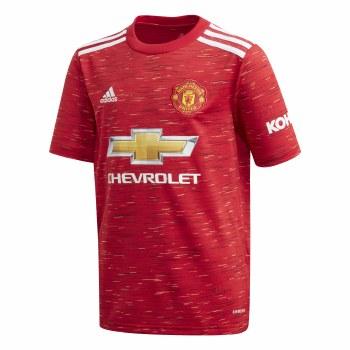 Adidas Man Utd  Home Jersey 2020/21 Kids (Red) 11-12