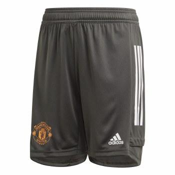 Adidas Manchester Utd Training Shorts Junior 2020/21 (Carbon Orange) 7-8